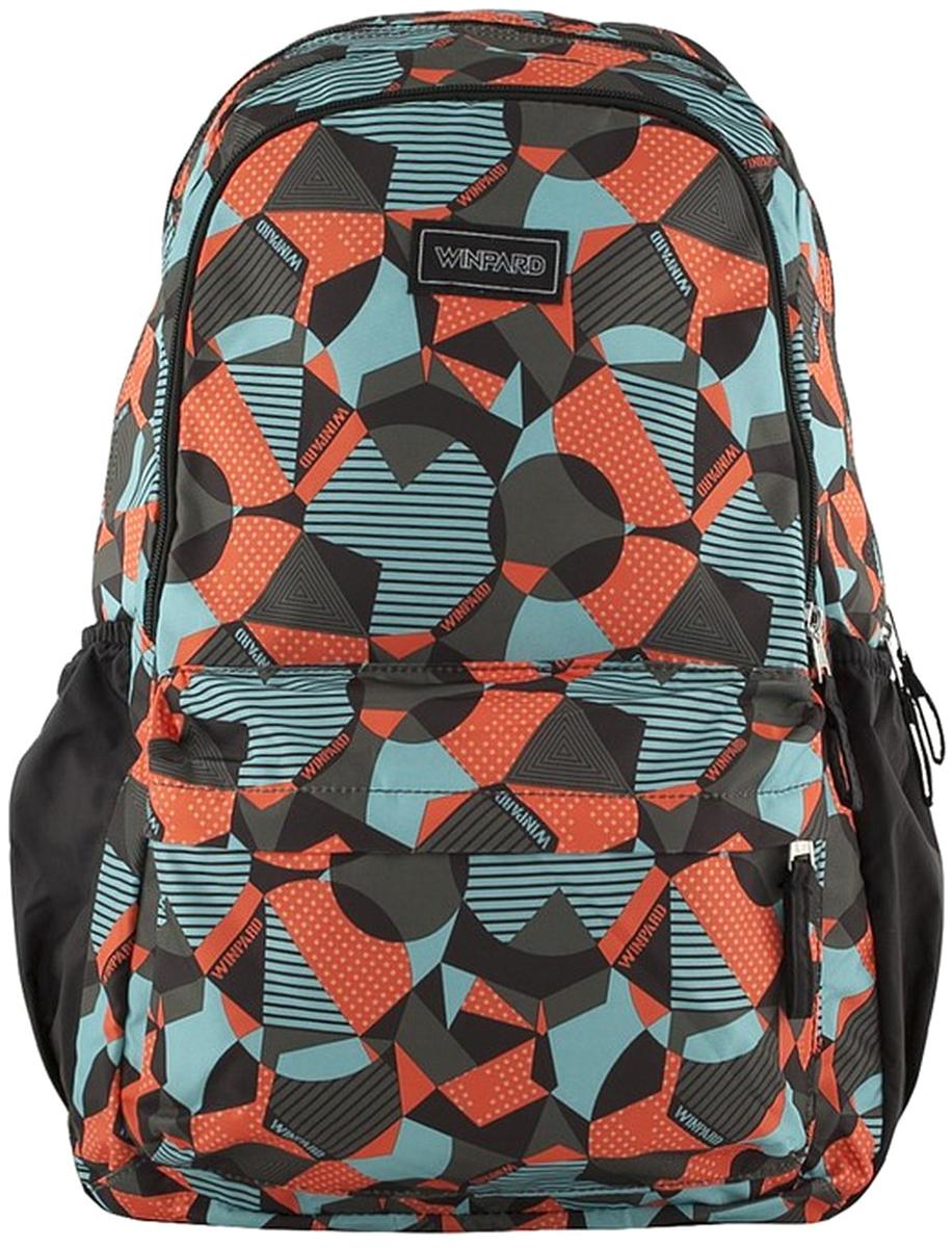 Рюкзак мужской Winpard, цвет: оранжевый. 21181/orange21181/orangeРюкзак мужской Winpard выполнен из полиэстера. Рюкзак имеет одно отделение на молнии, два кармана на молнии спереди, карманы на резинке по бокам. Рюкзак имеет прочные лямки регулируемой длины и ручку для переноски в руке.