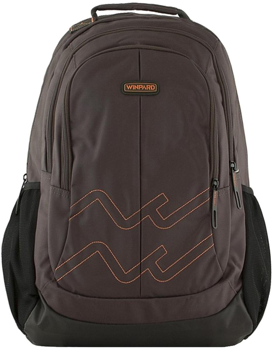 Рюкзак мужской Winpard, цвет: коричневый. 9887/grey