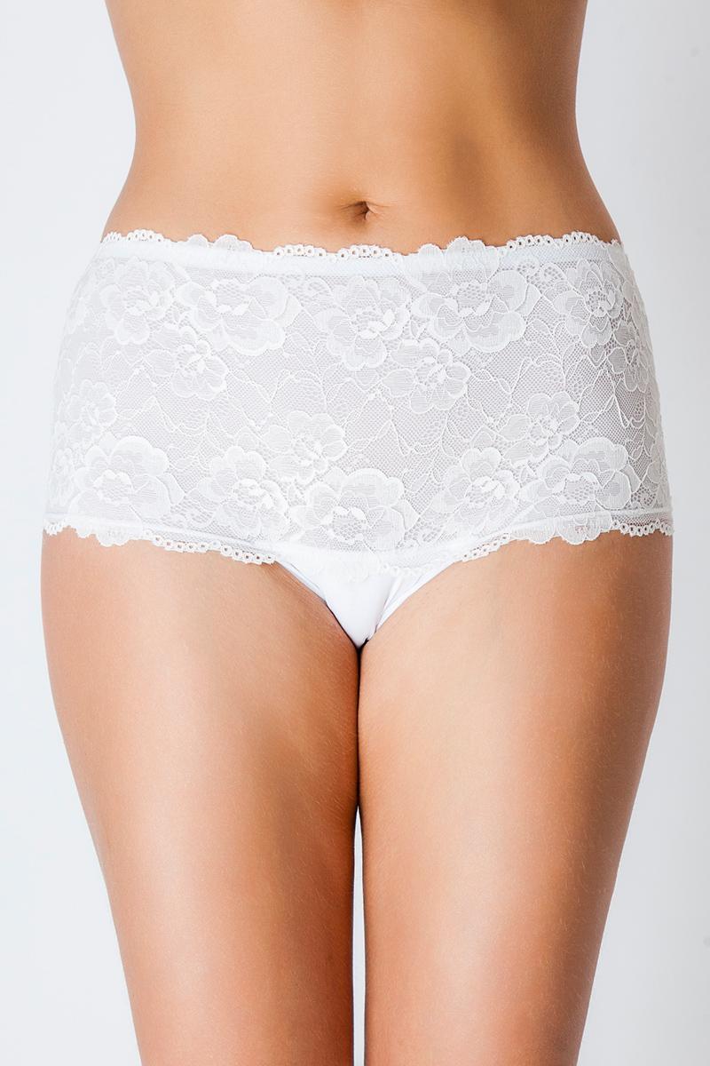 Трусы-макси женские Vis-A-Vis, цвет: белый. DM1241. Размер XL (50) vis a vis платье домашнее