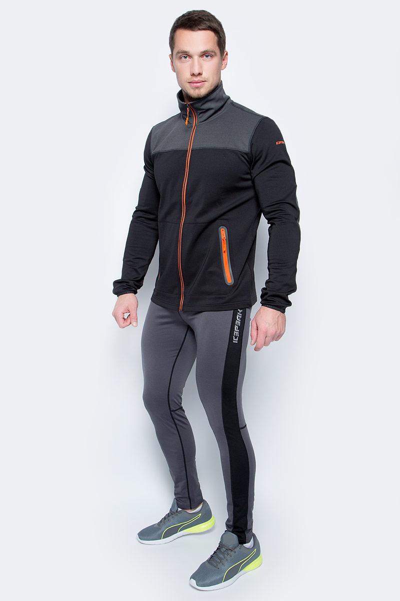 Тайтсы мужские Icepeak, цвет: серый. 857013584IV_285. Размер XXXL (56)857013584IV_285Тайтсы от Icepeak выполнены из высококачественного эластичного материала. Модель облегающего кроя с эластичной резинкой на талии.