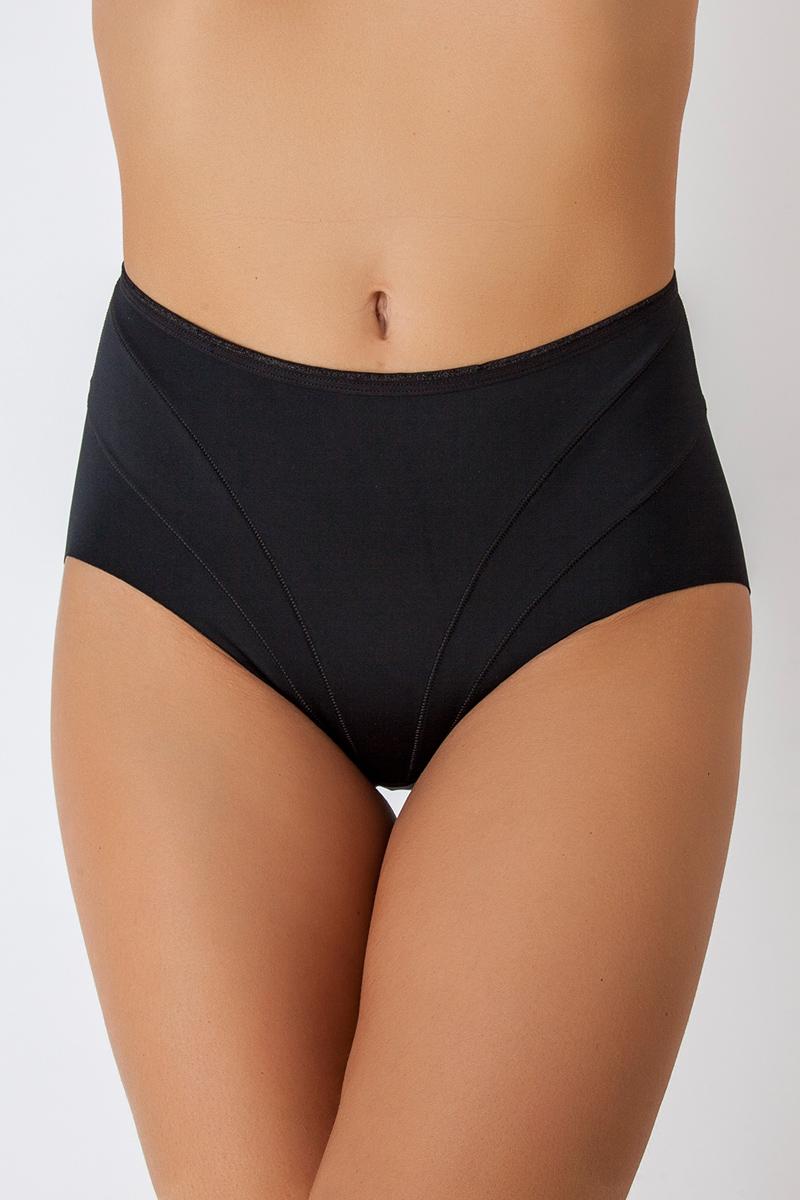 Трусы-макси женские Vis-A-Vis, цвет: черный. DM1255. Размер XL (50) пуловер vis a vis цвет оливковый