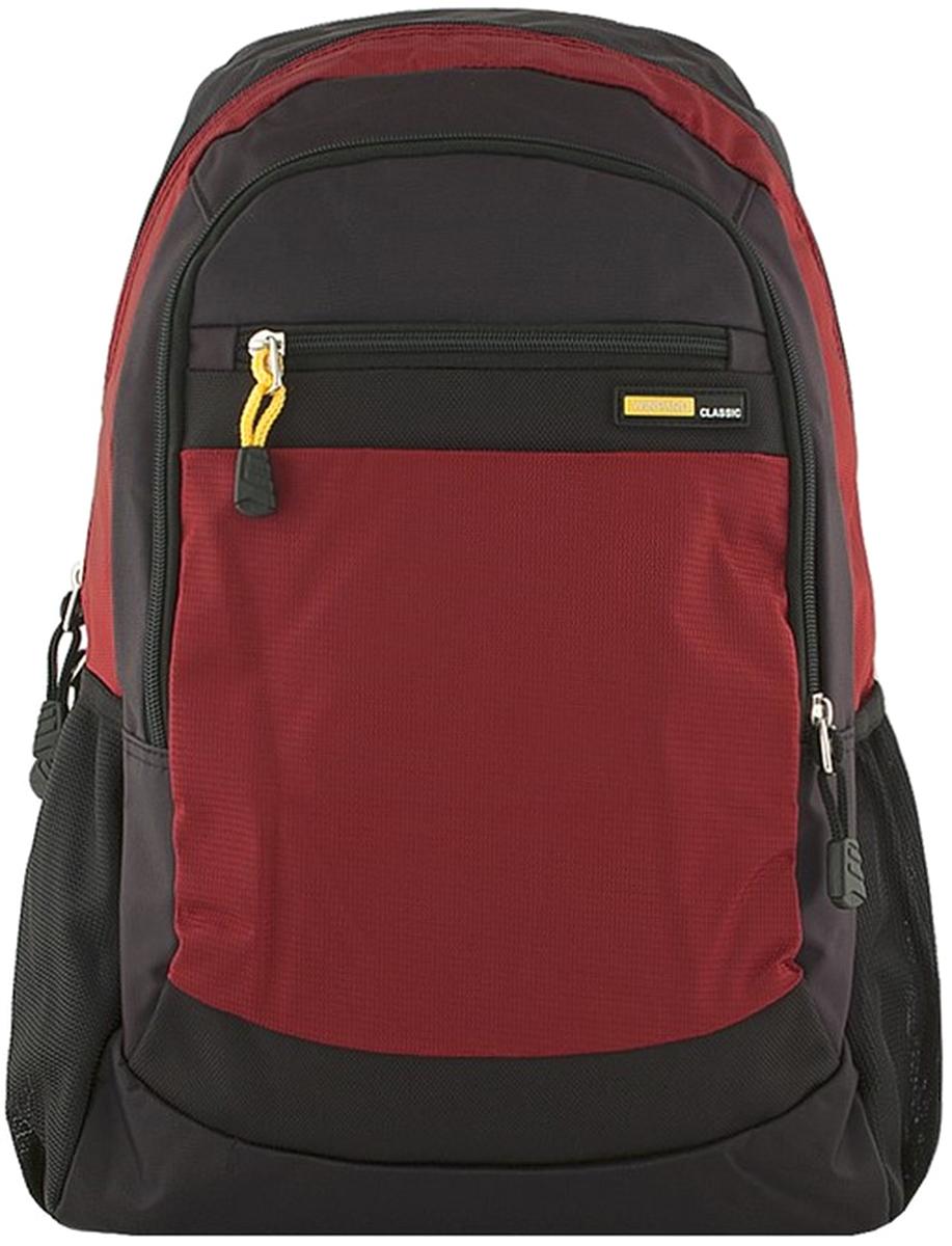 Рюкзак мужской Winpard, цвет: черный, красный. 1988/black-red рюкзак мужской adidas bp cl adicolor цвет красный 27 л cw0636