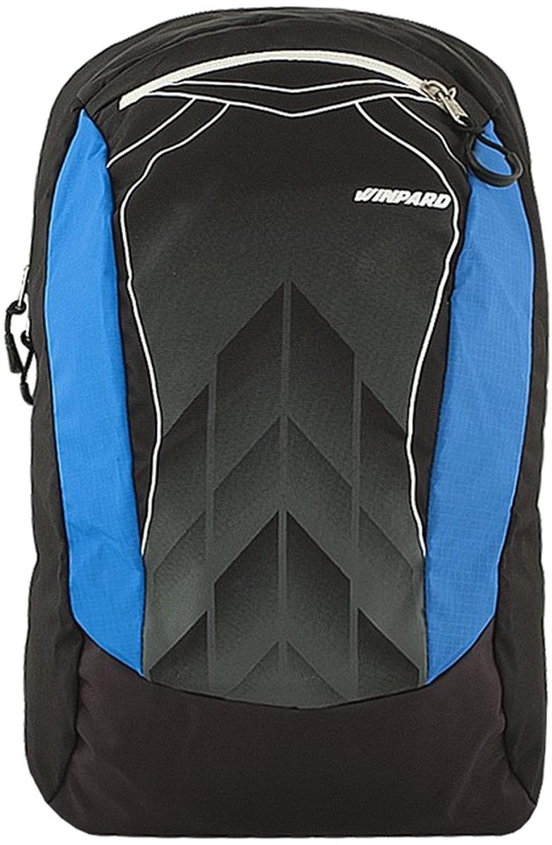 Рюкзак мужской Winpard выполнен из полиэстера. Рюкзак имеет одно отделение на молнии и на передней стенке один карман на молнии. Рюкзак имеет прочные лямки регулируемой длины и ручку для переноски в руке.