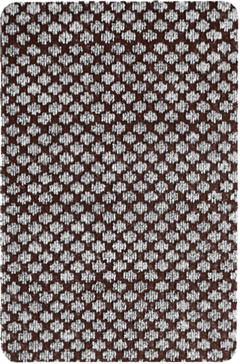 Коврик придверный Vortex Siesta, цвет: коричневый, серый, 40 х 60 см. 2238921749Коврик Vortex Очищает обувь от грязи и задерживает влагу при входе в помещение. Коврик без подложки.