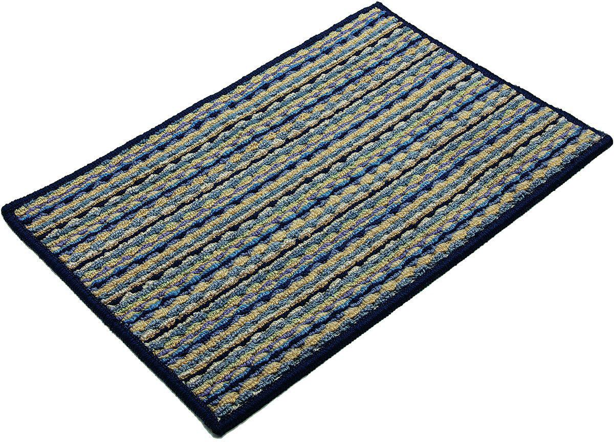Коврик придверный Vortex Spark, 50 х 80 см. 2235422354Коврик придверный Vortex изготовлен из прочной и долговечной резины и волокна. Лицевая сторона коврика ребристая, что помогает более эффективно удалять грязь с обуви. Коврик придверный Vortex надежно защитит помещение от уличной пыли и грязи.