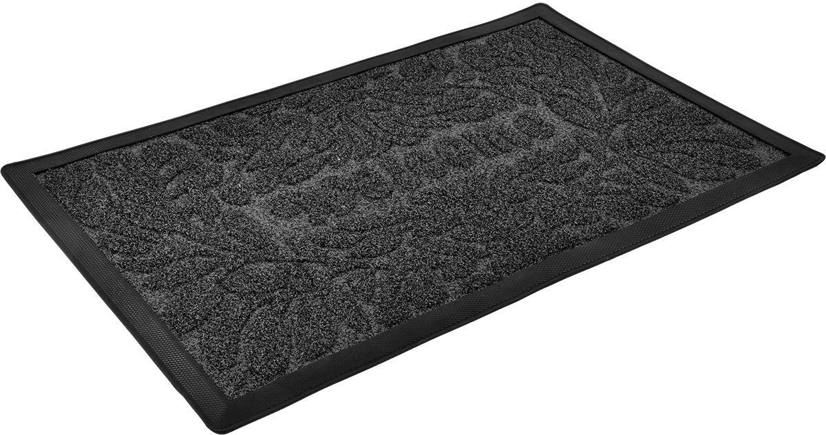 Коврик придверный Vortex Grass, рельефный , 50 х 80 см. 2252322523Ворс коврика Vortex изготовлен из 100% полипропилена. Коврик оснащен выполненной из резины подложкой. Коврик Vortex гармонично впишется в интерьер вашего дома и создаст атмосферу уюта и комфорта. Изделие отлично подойдет как для использования в доме, так и снаружи.