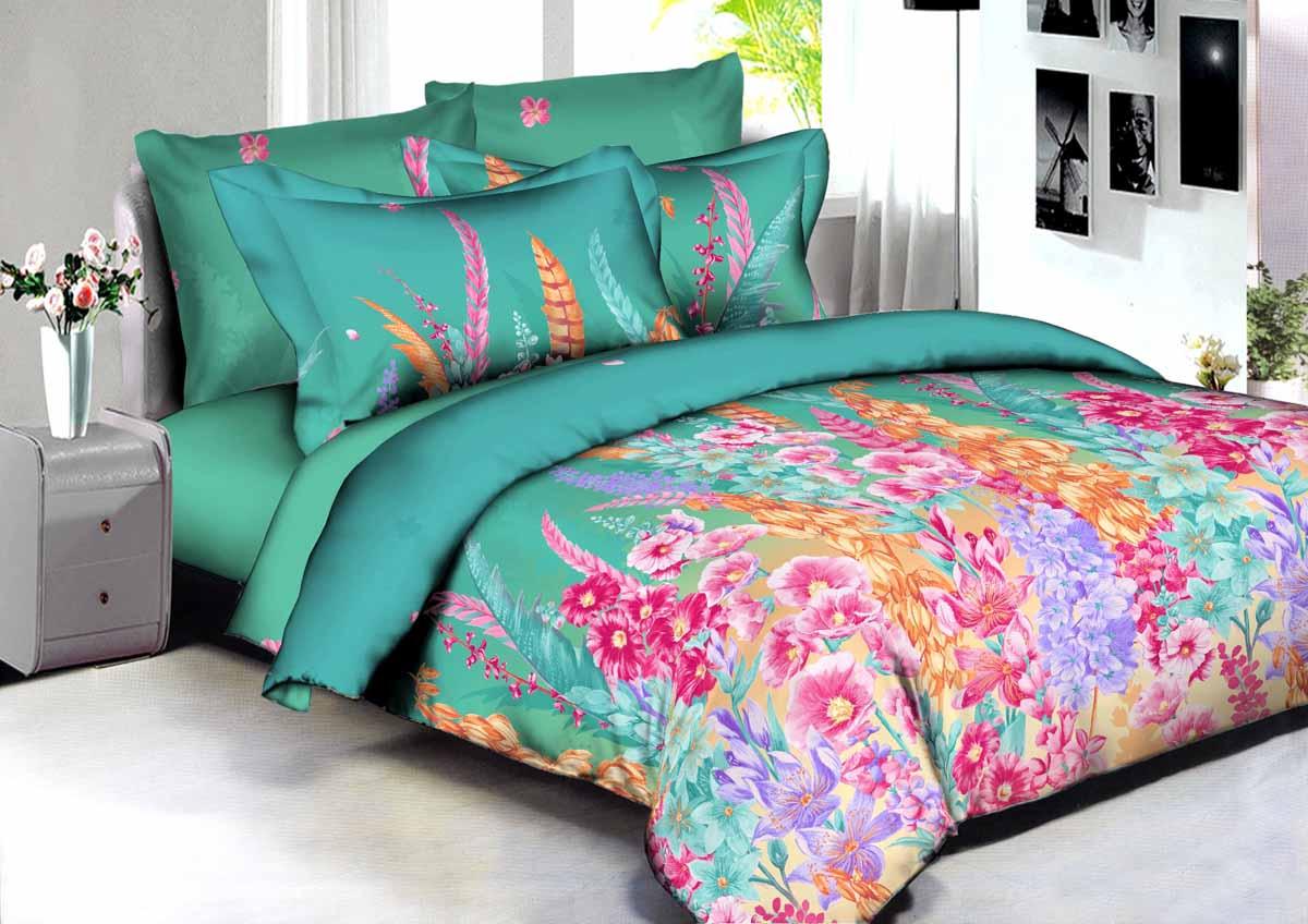 Комплект белья Amore Mio Buenas Noches Rio, 2-спальный, наволочки 70x70. 8659386593В постельном белье Buenas noches используется сатин премиального качества, плотный, шелковистый, с широким списком исключительных свойств. Яркий насыщенный цвет обеспечен высоким качеством печати устойчивыми гипоаллергенными активными красителями. Аккуратный и качественный пошив на нашем высокотехнологичном производстве. Кнопки на пододеяльнике - наше ноу-хау - обеспечит комфорт и практичность. Богатый выбор классических и современных дизайнов. Оригинальный дизайн наволочек не только удобен для сна, но и украшает постель. ервоначальный внешний вид долгие годы.Яркий насыщенный цвет обеспечен высоким качеством печати устойчивыми гипоаллергенными активными красителями. Аккуратный и качественный пошив на нашем высокотехнологичном производстве. Увеличенные размеры простынейКнопки на пододеяльнике - наше ноу-хау - обеспечит комфорт и практичность. Оригинальный дизайн наволочек не только удобен для сна, но и украшает постель.