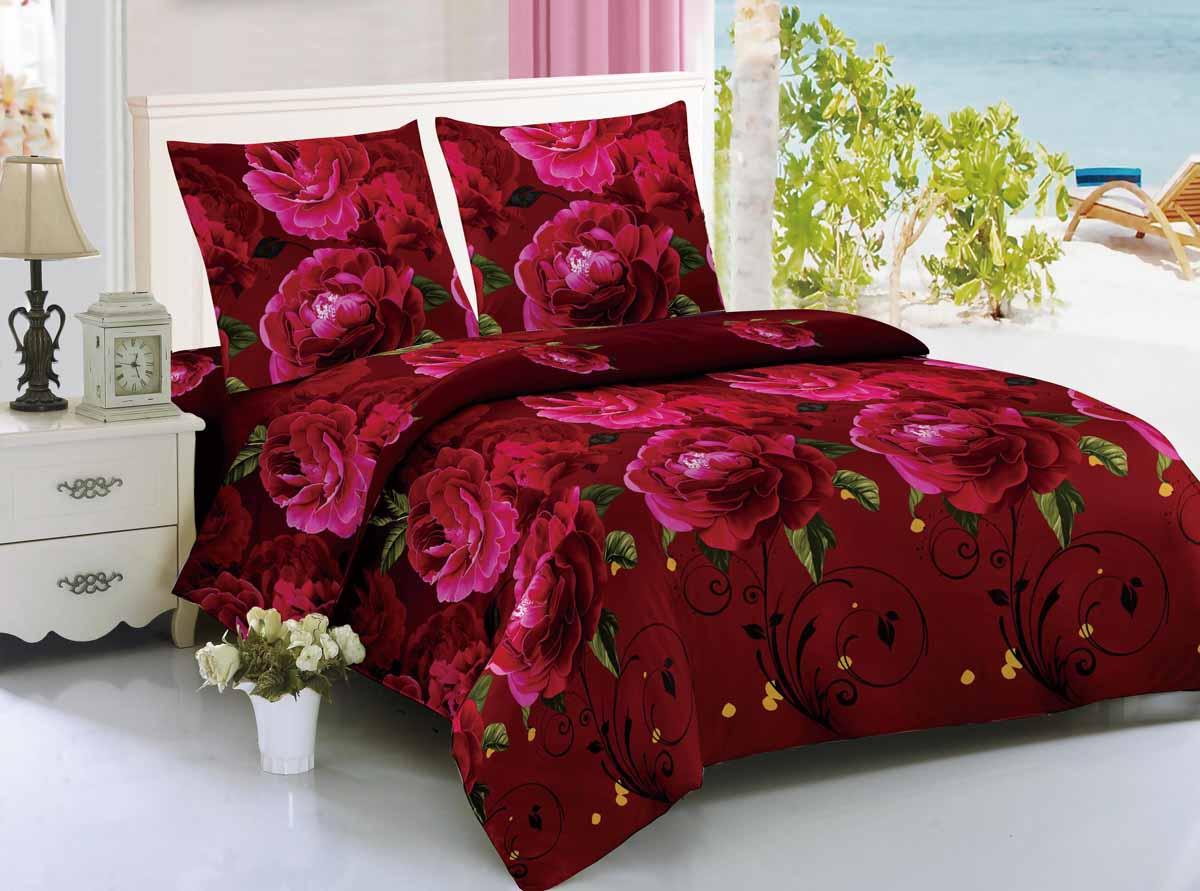 Комплект белья Amore Mio Shiraz, 1,5-спальный, наволочки 70x70, цвет: красный88347Amore Mio - Комфорт и Уют - Каждый день! Amore Mio предлагает оценить соотношение цены и качества коллекции. Разнообразие ярких и современных дизайнов прослужат не один год и всегда будут радовать Вас и Ваших близких сочностью красок и красивым рисунком. Мако-сатин - свежее решение, для уюта на даче или дома, созданное с любовью для вашего комфорта и отличного настроения! Нано-инновации позволили открыть новую ткань, полученную, в результате высокотехнологического процесса, сочетает в себе широкий спектр отличных потребительских характеристик и невысокой стоимости. Легкая, плотная, мягкая ткань, приятна и практична с эффектом персиковой кожуры. Отлично стирается, гладится, быстро сохнет. Дисперсное крашение, великолепно передает качество рисунков.