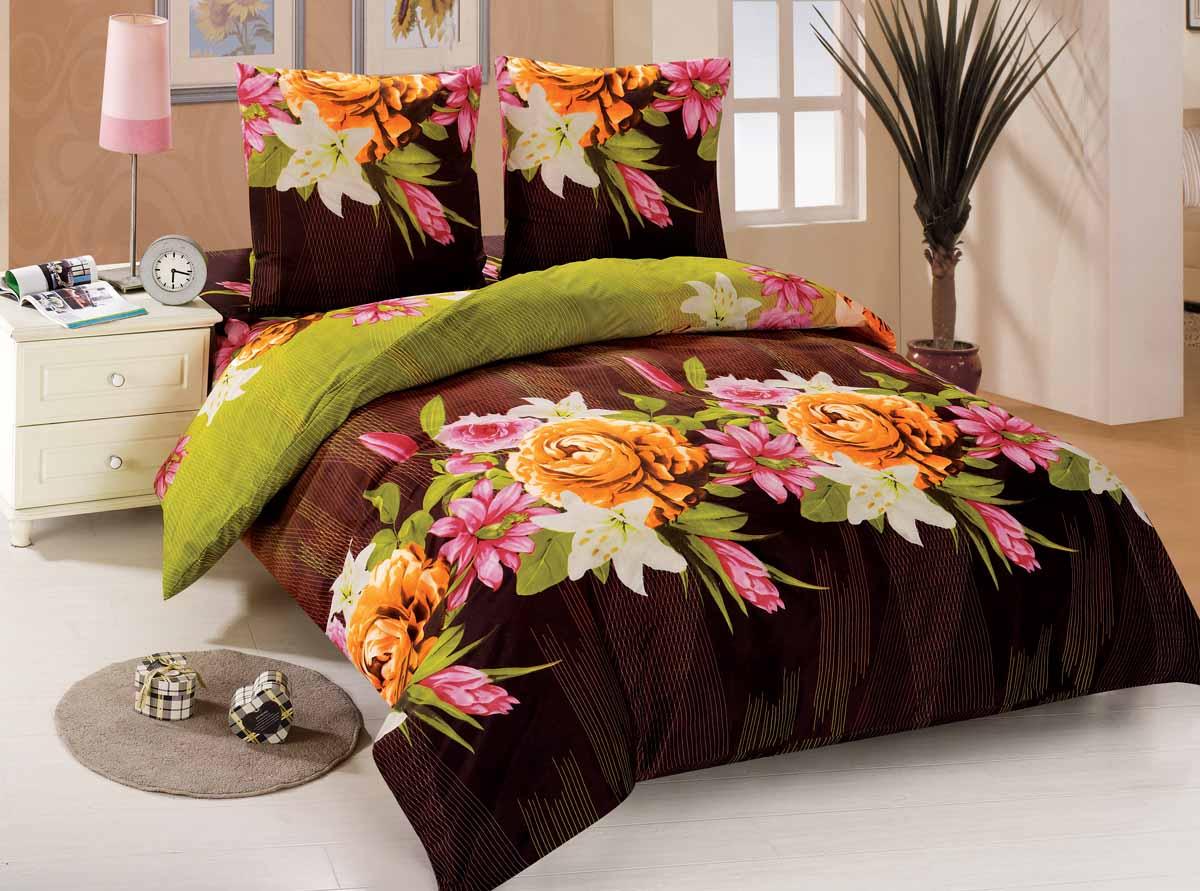 Комплект белья Amore Mio Zlata, 1,5-спальный, наволочки 70x70, цвет: красный88437Amore Mio - Комфорт и Уют - Каждый день! Amore Mio предлагает оценить соотношение цены и качества коллекции. Разнообразие ярких и современных дизайнов прослужат не один год и всегда будут радовать Вас и Ваших близких сочностью красок и красивым рисунком. Мако-сатин - свежее решение, для уюта на даче или дома, созданное с любовью для вашего комфорта и отличного настроения! Нано-инновации позволили открыть новую ткань, полученную, в результате высокотехнологического процесса, сочетает в себе широкий спектр отличных потребительских характеристик и невысокой стоимости. Легкая, плотная, мягкая ткань, приятна и практична с эффектом персиковой кожуры. Отлично стирается, гладится, быстро сохнет. Дисперсное крашение, великолепно передает качество рисунков.
