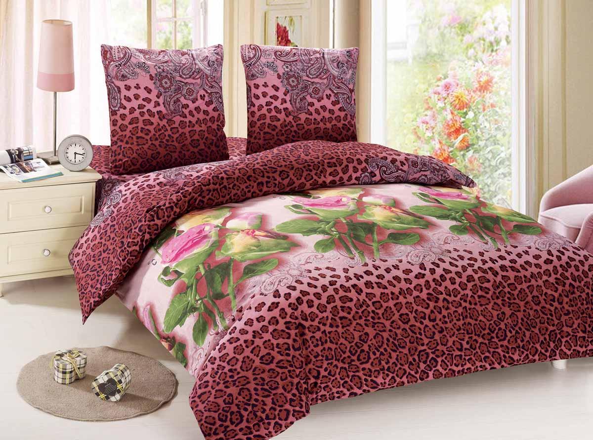 Комплект белья Amore Mio Flora, 1,5-спальный, наволочки 70x70, цвет: красный, зеленый88457Amore Mio - Комфорт и Уют - Каждый день! Amore Mio предлагает оценить соотношение цены и качества коллекции. Разнообразие ярких и современных дизайнов прослужат не один год и всегда будут радовать Вас и Ваших близких сочностью красок и красивым рисунком. Мако-сатин - свежее решение, для уюта на даче или дома, созданное с любовью для вашего комфорта и отличного настроения! Нано-инновации позволили открыть новую ткань, полученную, в результате высокотехнологического процесса, сочетает в себе широкий спектр отличных потребительских характеристик и невысокой стоимости. Легкая, плотная, мягкая ткань, приятна и практична с эффектом персиковой кожуры. Отлично стирается, гладится, быстро сохнет. Дисперсное крашение, великолепно передает качество рисунков.