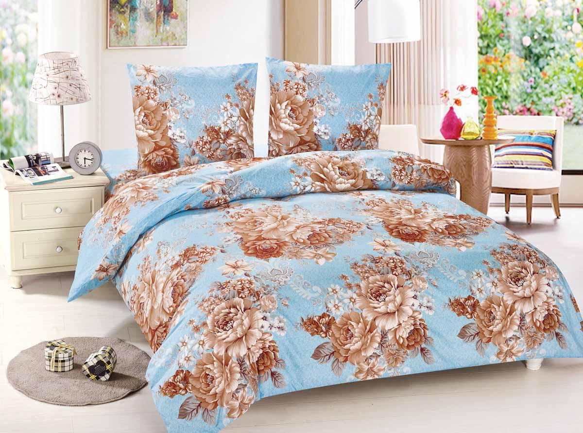 Комплект белья Amore Mio Yunona, 1,5-спальный, наволочки 70x70, цвет: голубой, коричневый88459Amore Mio - Комфорт и Уют - Каждый день! Amore Mio предлагает оценить соотношение цены и качества коллекции. Разнообразие ярких и современных дизайнов прослужат не один год и всегда будут радовать Вас и Ваших близких сочностью красок и красивым рисунком. Мако-сатин - свежее решение, для уюта на даче или дома, созданное с любовью для вашего комфорта и отличного настроения! Нано-инновации позволили открыть новую ткань, полученную, в результате высокотехнологического процесса, сочетает в себе широкий спектр отличных потребительских характеристик и невысокой стоимости. Легкая, плотная, мягкая ткань, приятна и практична с эффектом персиковой кожуры. Отлично стирается, гладится, быстро сохнет. Дисперсное крашение, великолепно передает качество рисунков.