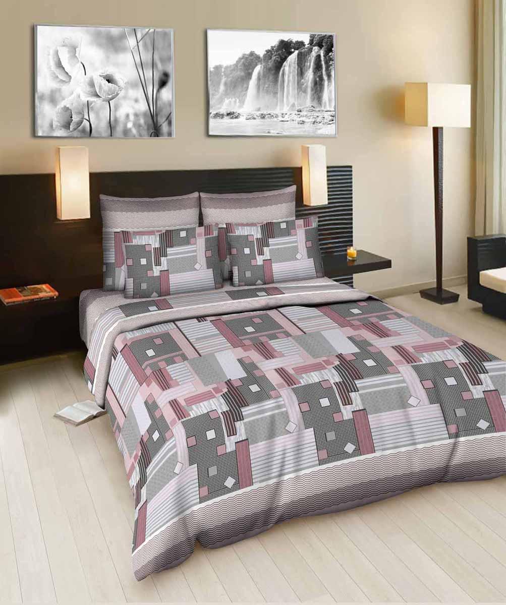 Комплект белья Amore Mio Window 1, 2-спальный, наволочки 70x70. 8753387533Постельное белье из бязи практично и долговечно, а самое главное - это 100% хлопок! Материал великолепно отводит влагу, отлично пропускает воздух, не капризен в уходе, легко стирается и гладится. Новая коллекция Naturel 3-D дизайнов позволит выбрать постельное белье на любой вкус!