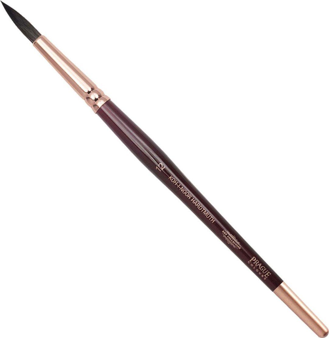 Koh-I-Noor Кисть белка круглая №12 короткая ручка -  Кисти