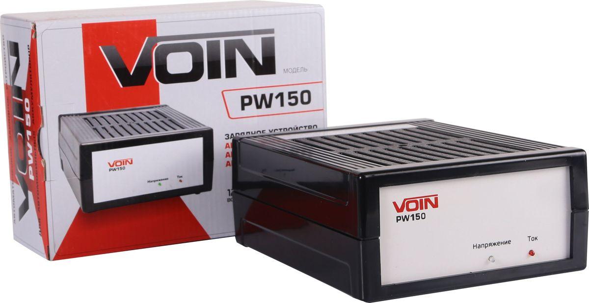 Зарядное устройство Azard Voin PW150, для автомобильных аккумуляторовvn150Зарядное устройство с автоматическим режимом заряда АКБ. Выходной ток 5,5А. Емкость заряжаемого аккумулятора 40-60А·ч. Номинальное напряжение заряжаемой батареи 12В. Питающая сеть переменного тока 220В, 50Гц. Зарядное устройство работает в автоматическом режиме с уменьшением зарядного тока в конце заряда.