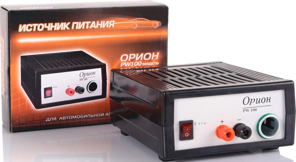 Зарядное устройство Орион PW 100, импульсноеЗАРЯД100Зарядное устройство с автоматическим режимом заряда АКБ. Выходной ток до 15А. Возможность подключения различной автоаппаратуры с питанием 12В. Емкость заряжаемого аккумулятора 40-120А/ч.