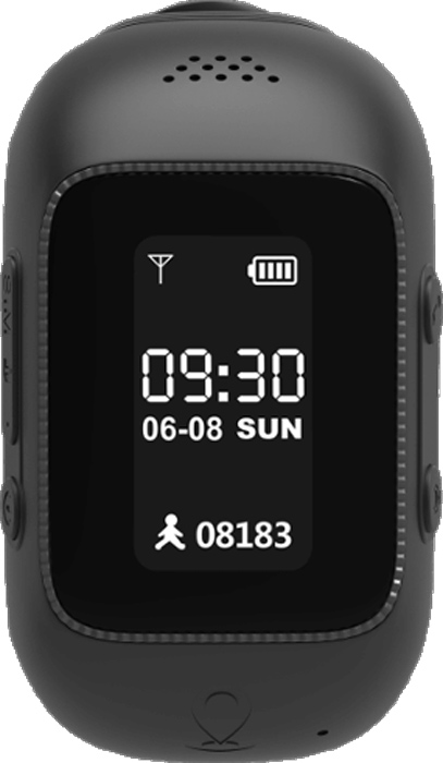 MyRope R12, Black умные часы с GPS-трекером
