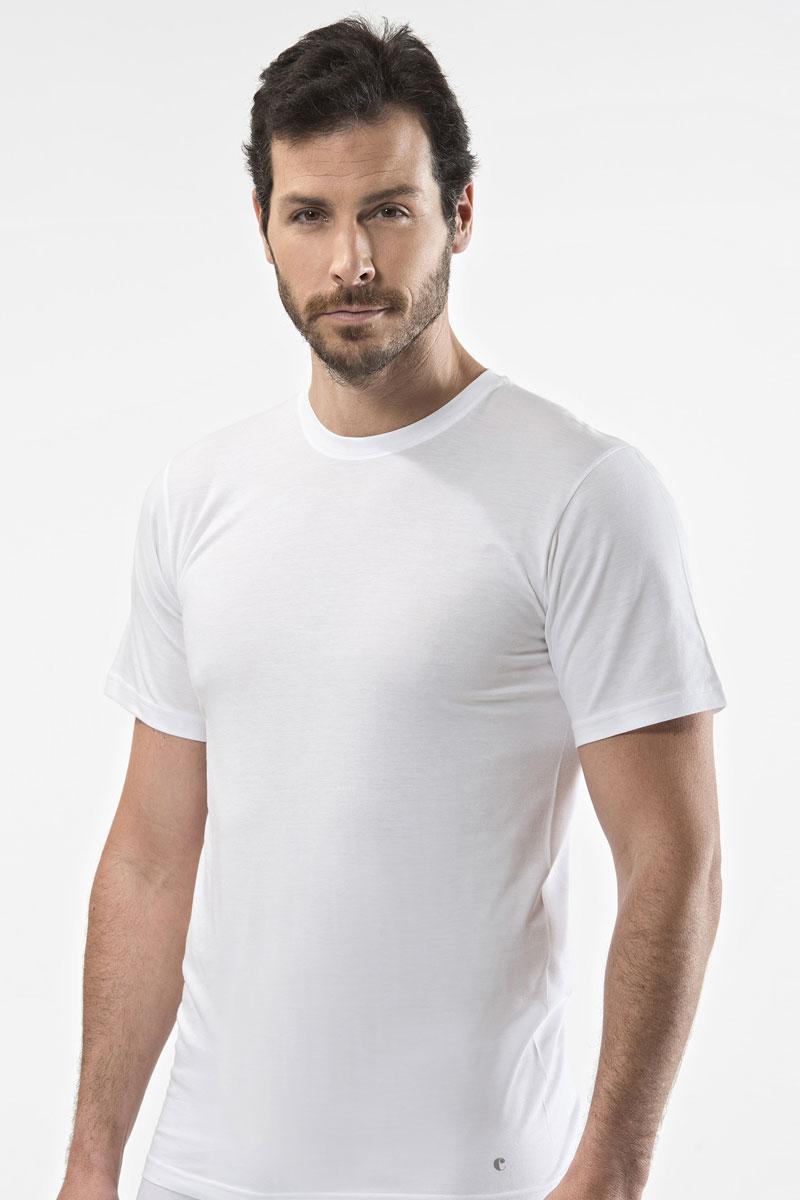 Футболка для дома мужская Cacharel, цвет: белый. 1103. Размер 3XL (54/56) cacharel w15112411560