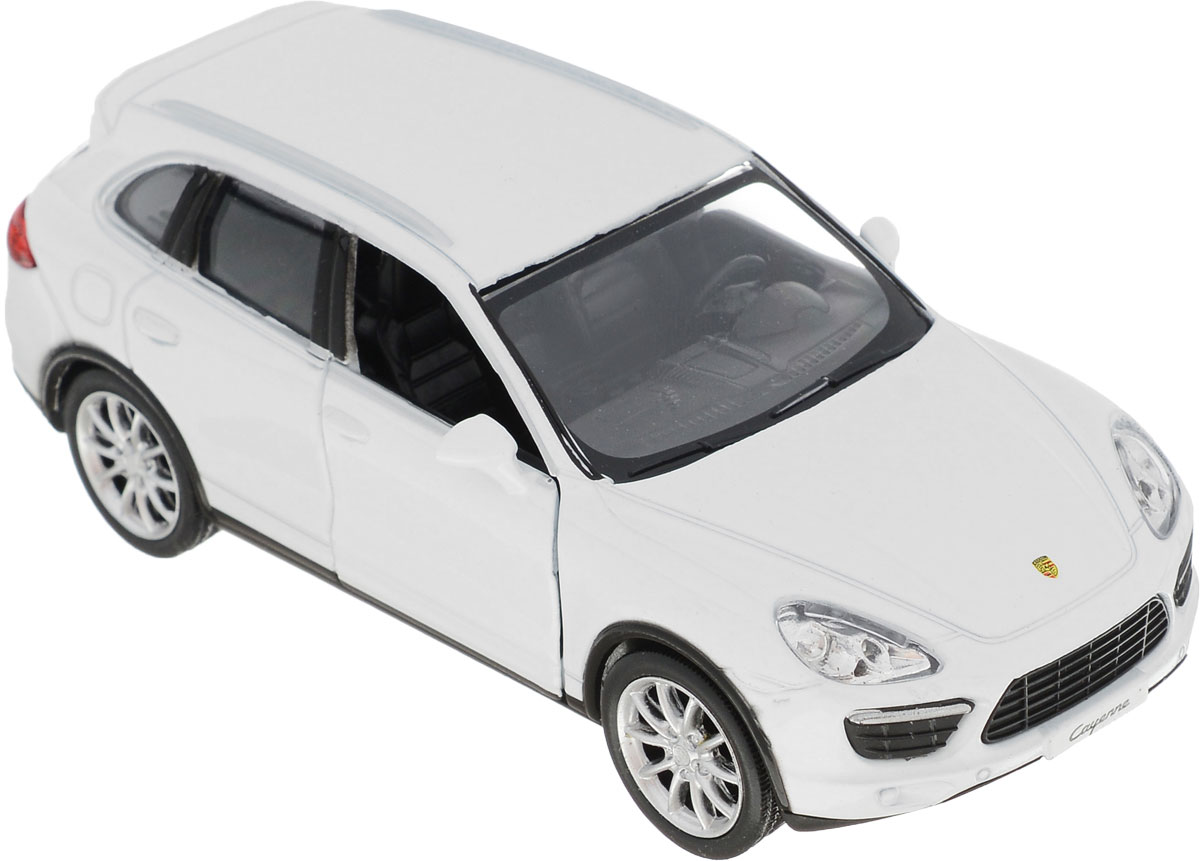 Autotime Модель автомобиля Porsche Cayenne Turbo цвет белый 34164 autotime collection 11446 уаз 31514 вдв