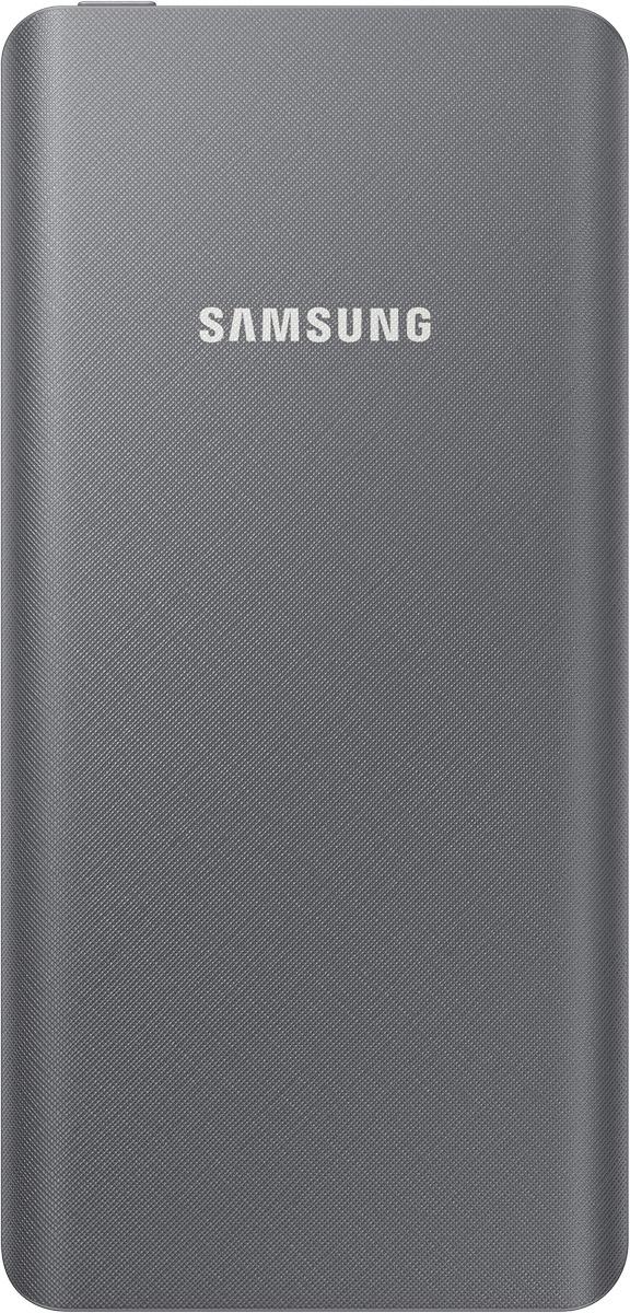 Samsung EB-P3020, Grey внешний аккумулятор (5000 мАч)SAM-EB-P3020BSRGRUПортативное зарядное устройство Samsung EB-P3020 поможет увеличить время автономной работы смартфона или планшета. Компактные размеры позволяют брать его с собой в любые поездки. Прибор создан на основе современной литий-ионной батареи, которая сохраняет стабильную емкость после множества перезарядок. В аккумуляторе предусмотрена защита от перегрева, перегрузки и коротких замыканий. Также он оснащен LED-индикатором, сообщающим о количестве заряда.