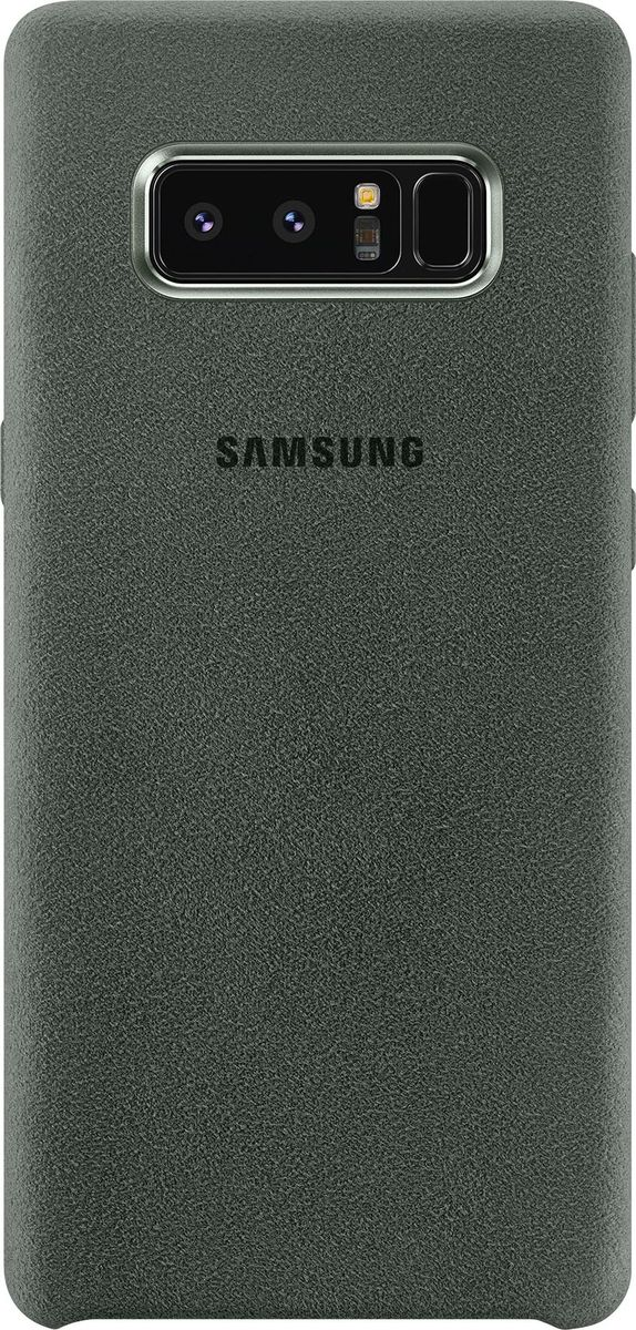 Samsung EF-XN950 Alcantara Cover Great чехол для Note 8, Khaki чехол клип кейс samsung alcantara cover great для samsung galaxy note 8 хаки [ef xn950akegru]
