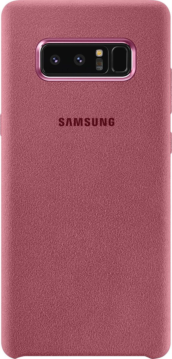 Samsung EF-XN950 Alcantara Cover Great чехол для Note 8, Pink чехол клип кейс samsung alcantara cover great для samsung galaxy note 8 хаки [ef xn950akegru]