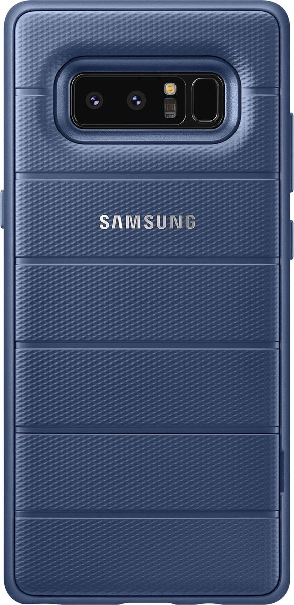 Samsung EF-RN950 Protective Standing Cover Great чехол для Note 8, Dark Blue чехол для смартфона samsung galaxy note 8 clear cover great фиолетовый ef qn950cvegru ef qn950cvegru