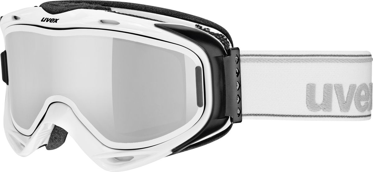 Маска горнолыжная Uvex G.Gl 300 TO Ski Mask, цвет: белый213Маска Uvex G.Gl 300 TO Ski Mask для катания на горных лыжах. Модель рассчитана на неяркое солнце.БЫСТРАЯ ЗАМЕНА ЛИНЗЫТехнология Take Off позволяет зафиксировать дополнительную линзу поверх основной, чтобы приспособить маску к меняющимся погодным условиям.КОМФОРТВ модели использован комфортный пенный уплотнитель.ЗАЩИТА ОТ ЗАПОТЕВАНИЯПокрытие Supravision не позволит линзе запотеть.СОВМЕСТИМОСТЬ С ОЧКАМИМаску можно носить поверх очков, корректирующих зрение.