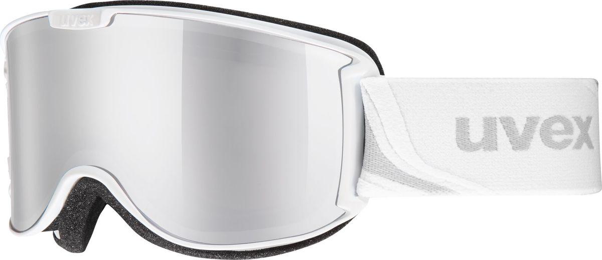 Маска горнолыжная женская Uvex Skyper LM Ski Mask, цвет: белый матовый421Женская горнолыжная маска Uvex Skyper LM Ski Mask предназначена для девушек, которые любят фрирайд. Модель рассчитана на катание при неярком солнце.Благодаря конструкции без оправы снег не налипает на маску, а просто соскальзывает с линзы, а покрытие Supravision не позволяет линзе запотевать.В маске использован комфортный уплотнитель из велюра.Гарантирована 100 % защита от УФ-лучей.