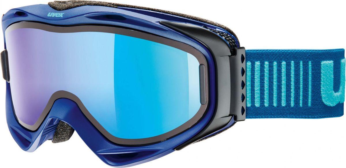 Маска горнолыжная Uvex G.Gl 300 TO Ski Mask, цвет: синий матовый213Маска для катания на горных лыжах от Uvex. Модель рассчитана на неяркое солнце.БЫСТРАЯ ЗАМЕНА ЛИНЗЫТехнология Take Off позволяет зафиксировать дополнительную линзу поверх основной, чтобы приспособить маску к меняющимся погодным условиям.КОМФОРТВ модели использован комфортный пенный уплотнитель.ЗАЩИТА ОТ ЗАПОТЕВАНИЯПокрытие Supravision не позволит линзе запотеть.СОВМЕСТИМОСТЬ С ОЧКАМИМаску можно носить поверх очков, корректирующих зрение