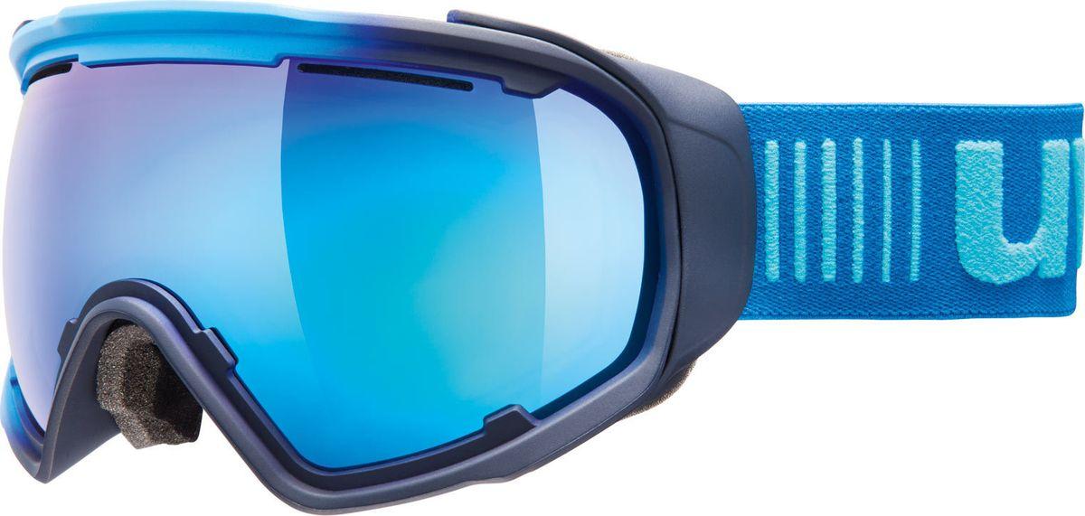 Маска горнолыжная Uvex JAKK sph Ski Mask, цвет: синий матовый432Функциональная горнолыжная маска Uvex JAKK sph Ski Mask предназначена для солнечной погоды. Система вентиляции и покрытие Supravision не только препятствуют запотеванию линзы, но и обеспечивают оптимальный воздухообмен под шлемом. Благодаря конструкции без оправы снег не налипает на маску, а просто соскальзывает с линзы. Также в маске использован комфортный уплотнитель из велюра. Маска специально разработана для идеальной совместимости со шлемом: стрэп с силиконовым нанесением не даст маске соскользнуть.Что взять с собой на горнолыжную прогулку: рассказывают эксперты. Статья OZON Гид