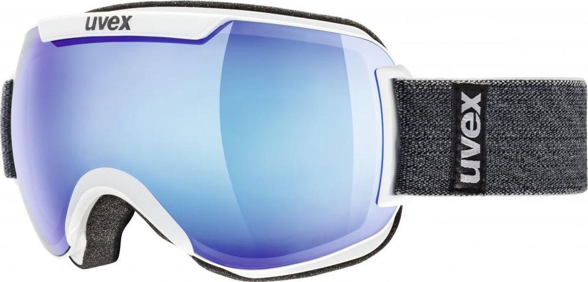 Маска горнолыжная Uvex Downhill 2000 FM Ski Mask, цвет: белый115Горнолыжная маска Uvex Downhill 2000 FM Ski Mask подойдет для катания в солнечную погоду.МАКСИМАЛЬНЫЙ ОБЗОРБлагодаря большой линзе и конструкции без оправы у маски превосходный обзор.КОМФОРТВ модели использован комфортный пенный уплотнитель.ЗАЩИТА ОТ ЗАПОТЕВАНИЯПокрытие Supravision не позволит линзе запотеть.ЗАЩИТА ОТ УЛЬТРАФИОЛЕТАЛинза c зеркальным покрытием и технологией 100% UVA- UVB- UVC-PROTECTION обеспечивает защиту от всех видов ультрафиолетового излучения.Что взять с собой на горнолыжную прогулку: рассказывают эксперты. Статья OZON Гид