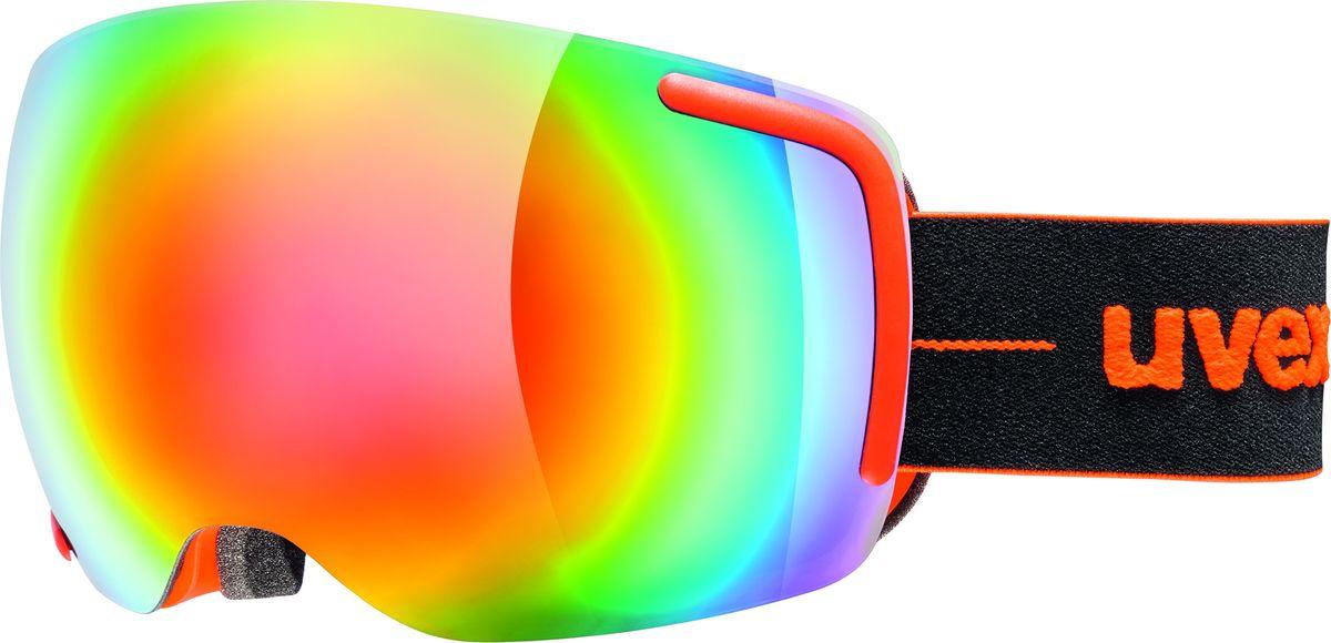 Маска горнолыжная Uvex Big 40 FM Ski Mask, цвет: оранжевый матовый441Маска горнолыжная Uvex Big 40 FM Ski Mask создана специально для фрирайда. Маску рекомендуется использовать в солнечную погоду.МАКСИМАЛЬНЫЙ ОБЗОРЛинза высотой 40 мм и конструкция без оправы обеспечивают оптимальный обзор.КОМФОРТСнег не налипает, а соскальзывает с линзы. Также в модели использован комфортный пенный уплотнитель. ЗАЩИТА ОТ ЗАПОТЕВАНИЯПокрытие Supravision не позволит линзе запотеть.