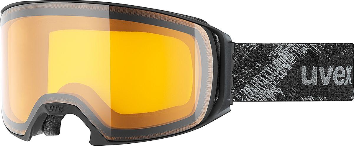Маска горнолыжная Uvex Uvex.craxx OTG LGL Ski Mask, цвет: черный матовый1628Горнолыжная маска от Uvex, рассчитанная на средний размер лица. Модель подойдет для катания в пасмурные дни.КОМФОРТВ модели использован комфортный пенный уплотнитель.ЗАЩИТА ОТ ЗАПОТЕВАНИЯПокрытие Supravision не позволит линзе запотеть.СОВМЕСТИМОСТЬ С ОЧКАМИМаску можно носить поверх очков, корректирующих зрение
