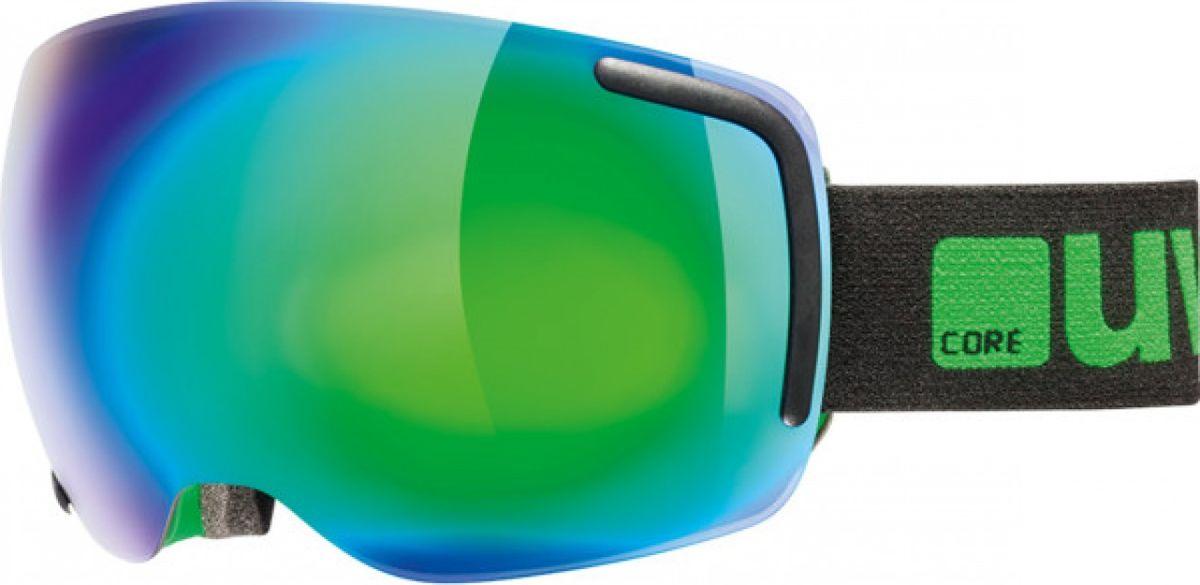 Маска горнолыжная Uvex Big 40 FM Ski Mask, цвет: черный, зеленый матовый441Горнолыжная маска от Uvex, созданная специально для фрирайда. Маску рекомендуется использовать в солнечную погоду.МАКСИМАЛЬНЫЙ ОБЗОРЛинза высотой 40 мм и конструкция без оправы обеспечивают оптимальный обзор.КОМФОРТСнег не налипает, а соскальзывает с линзы. Также в модели использован комфортный пенный уплотнитель.ЗАЩИТА ОТ ЗАПОТЕВАНИЯПокрытие Supravision не позволит линзе запотеть.