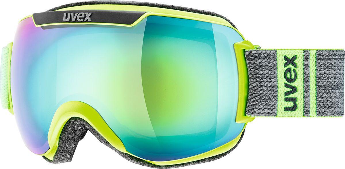 Маска горнолыжная Uvex Downhill 2000 FM Ski Mask, цвет: лайм, серый матовый115Горнолыжная маска от Uvex для катания в солнечную погоду.МАКСИМАЛЬНЫЙ ОБЗОРБлагодаря большой линзе и конструкции без оправы у маски превосходный обзор.КОМФОРТВ модели использован комфортный пенный уплотнитель.ЗАЩИТА ОТ ЗАПОТЕВАНИЯПокрытие Supravision не позволит линзе запотеть.ЗАЩИТА ОТ УЛЬТРАФИОЛЕТАЛинза c зеркальным покрытием и технологией 100% UVA- UVB- UVC-PROTECTION обеспечивает защиту от всех видов ультрафиолетового излучения.