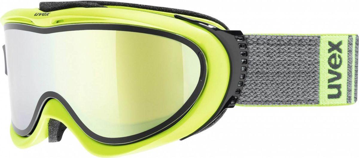Маска горнолыжная Uvex Comanche TO Ski Mask, цвет: лайм матовый1209Маска для катания Uvex Comanche TO Ski Mask с двойными поликарбонатными линзами предназначена для катания в солнечную погоду. Технология Take Off позволяет закрепить тонкую гибкую линзу поверх базовой за считанные секунды.КОМФОРТУплотнитель из велюра гарантирует удобство при катании.ЗАЩИТА ОТ ЗАПОТЕВАНИЯПокрытие Supravision защищает от запотевания.СОВМЕСТИМОСТЬ СО ШЛЕМОМСтрэп покрыт силиконовым нанесением.СОВМЕСТИМОСТЬ С ОЧКАМИМаску можно носить поверх обычных очков.ЗАЩИТА ОТ УЛЬТРАФИОЛЕТАНа 100 % защищает глаза от вредных УФ-лучей.