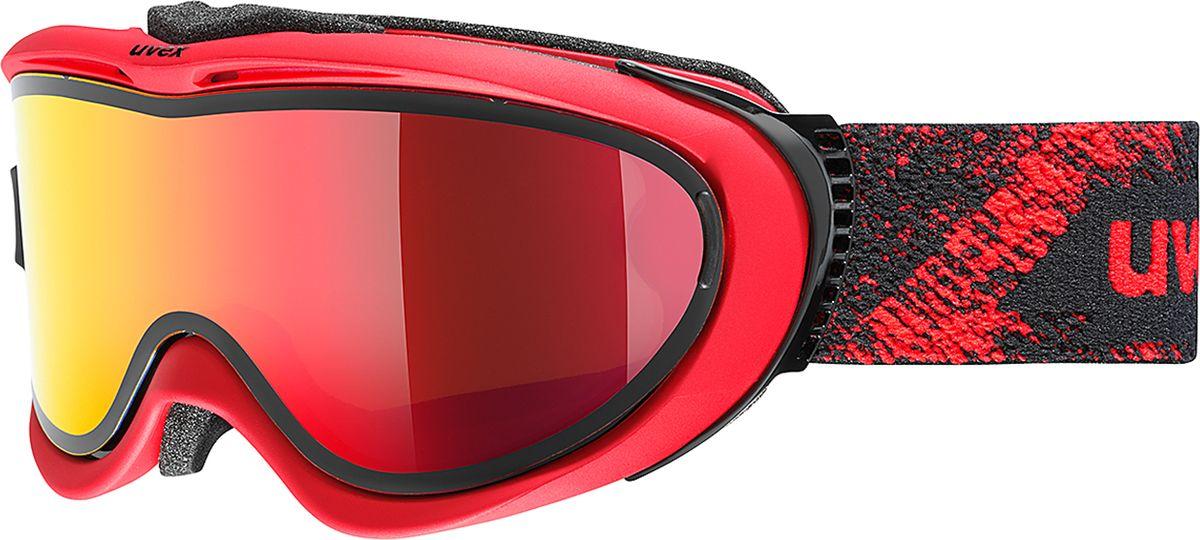 Маска горнолыжная Uvex Comanche TO Ski Mask, цвет: красный матовый1209Маска для катания Uvex Comanche TO с двойными поликарбонатными линзами предназначена для катания в солнечную погоду. Технология Take Off позволяет закрепить тонкую гибкую линзу поверх базовой за считанные секунды.КОМФОРТУплотнитель из велюра гарантирует удобство при катании.ЗАЩИТА ОТ ЗАПОТЕВАНИЯПокрытие Supravision защищает от запотевания.СОВМЕСТИМОСТЬ СО ШЛЕМОМСтрэп покрыт силиконовым нанесением.СОВМЕСТИМОСТЬ С ОЧКАМИМаску можно носить поверх обычных очков.ЗАЩИТА ОТ УЛЬТРАФИОЛЕТАНа 100 % защищает глаза от вредных УФ-лучей.