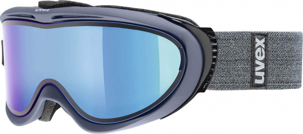 Маска горнолыжная Uvex Comanche TO Ski Mask, цвет: синий матовый1209Маска горнолыжная для катания Uvex Comanche TO Ski Mask с двойными поликарбонатными линзами предназначена для катания в солнечную погоду. Технология Take Off позволяет закрепить тонкую гибкую линзу поверх базовой за считанные секунды.КОМФОРТУплотнитель из велюра гарантирует удобство при катании.ЗАЩИТА ОТ ЗАПОТЕВАНИЯПокрытие Supravision защищает от запотевания.СОВМЕСТИМОСТЬ СО ШЛЕМОМСтрэп покрыт силиконовым нанесением.СОВМЕСТИМОСТЬ С ОЧКАМИМаску можно носить поверх обычных очков.ЗАЩИТА ОТ УЛЬТРАФИОЛЕТАНа 100 % защищает глаза от вредных УФ-лучей.