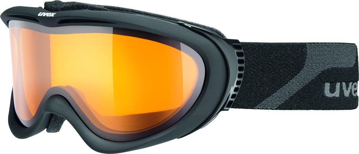 Маска горнолыжная Uvex Comanche LGL Ski Mask, цвет: черный матовый1092КОМФОРТВ модели использован комфортный пенный уплотнитель.ЗАЩИТА ОТ ЗАПОТЕВАНИЯПокрытие Supravision не позволит линзе запотеть.СОВМЕСТИМОСТЬ С ОЧКАМИМаску можно носить поверх очков, корректирующих зрение.