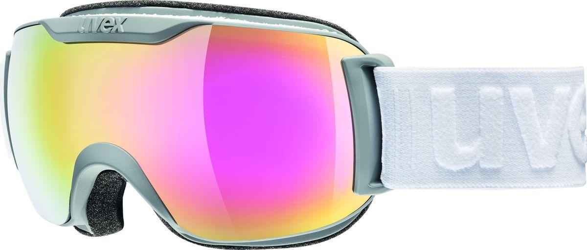 Маска горнолыжная Uvex Downhill 2000 S FM Ski Mask, цвет: белый437Горнолыжная маска Uvex Downhill 2000 S FM Ski Mask рекомендована для катания при неярком солнце.КОМФОРТБлагодаря конструкции без оправы снег не налипает на маску, а просто соскальзывает с линзы. Также в маске использован комфортный уплотнитель из велюра.ЗАЩИТА ОТ ЗАПОТЕВАНИЯПокрытие Supravision не позволит линзе запотеть.СОВМЕСТИМОСТЬ СО ШЛЕМОМСтрэп с силиконовым нанесением не даст маске соскользнуть.
