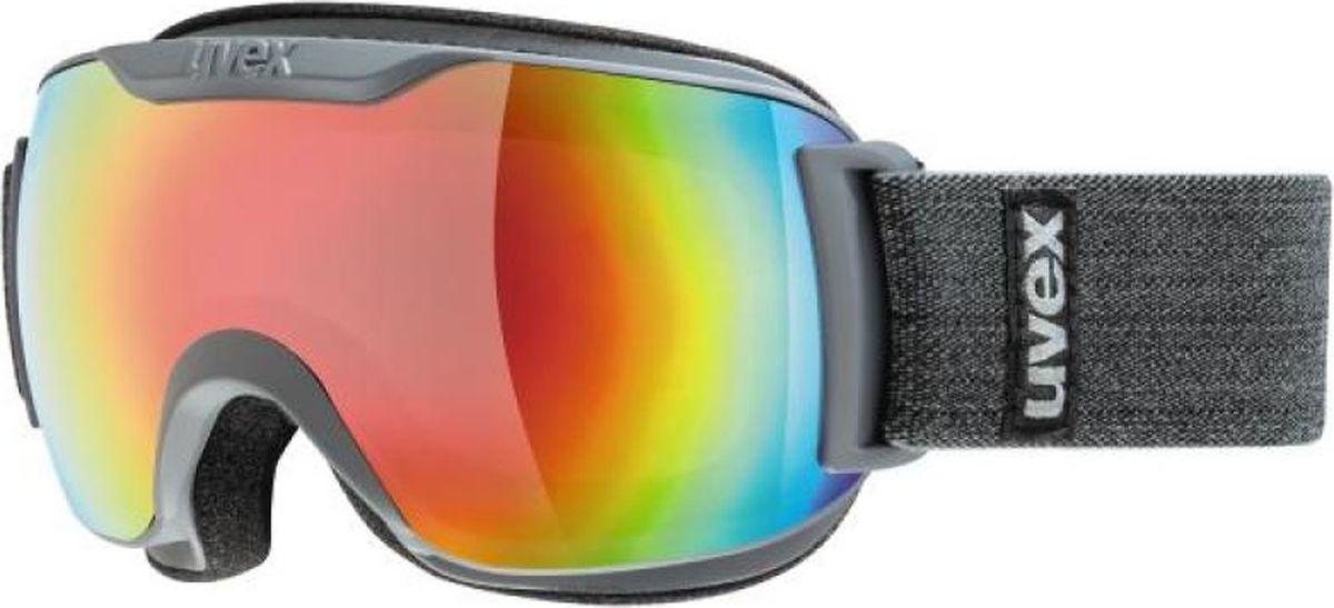 Маска горнолыжная Uvex Downhill 2000 S FM Ski Mask, цвет: серый матовый437Горнолыжная маска от Uvex, рекомендованная для катания при неярком солнце.КОМФОРТБлагодаря конструкции без оправы снег не налипает на маску, а просто соскальзывает с линзы. Также в маске использован комфортный уплотнитель из велюра.ЗАЩИТА ОТ ЗАПОТЕВАНИЯПокрытие Supravision не позволит линзе запотеть.СОВМЕСТИМОСТЬ СО ШЛЕМОМСтрэп с силиконовым нанесением не даст маске соскользнуть.