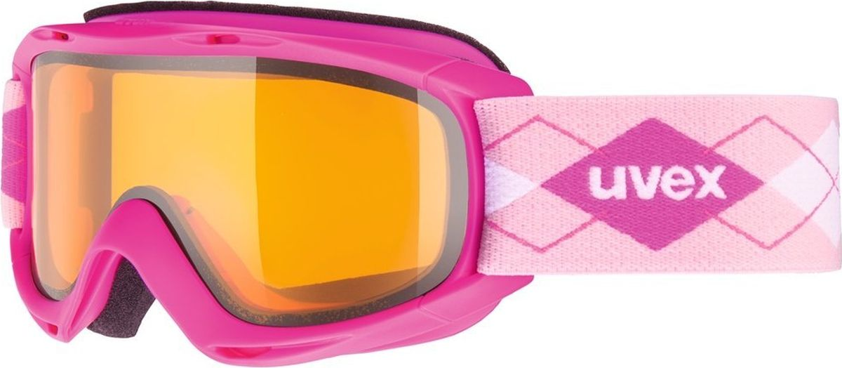 Маска горнолыжная Uvex Slider Kids Goggles, цвет: розовый24Детская горнолыжная маска с двойными поликарбонатными линзами подойдет для катания в туманную или облачную погоду, а также при искусственном освещении. ЗАЩИТА ОТ ЗАПОТЕВАНИЯПокрытие Supravision защищает от запотевания.ЗАЩИТА ОТ УЛЬТРАФИОЛЕТА100 % защита UVA, -B, -C.Защита от УФ ДаЦвет основной линзы ОранжевыйПоляризация НетВентиляция ДаПокрытие анти-фог ДаСовместимость со шлемом ДаСменная линза НетМатериал линзы ПоликарбонатМатериал оправы ПолиуретанКонструкция линзы ДвойнаяФорма линзы ЦилиндрическаяВозможность замены линзы Да
