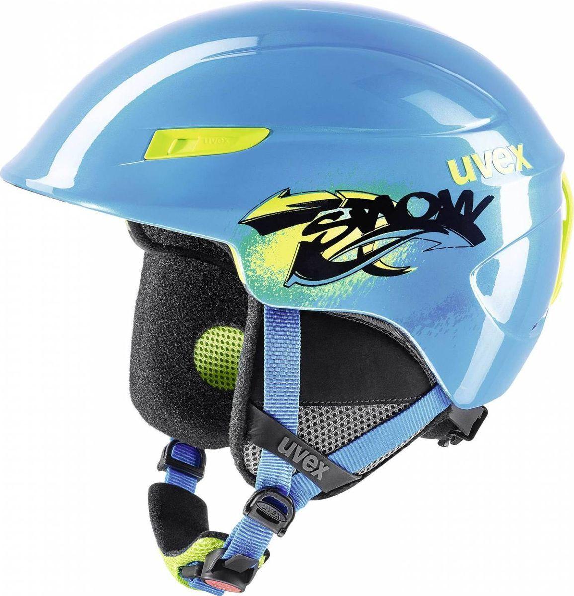 Шлем горнолыжный детский Uvex U-kid Kid's Helmet, цвет: синий. Размер 46/51