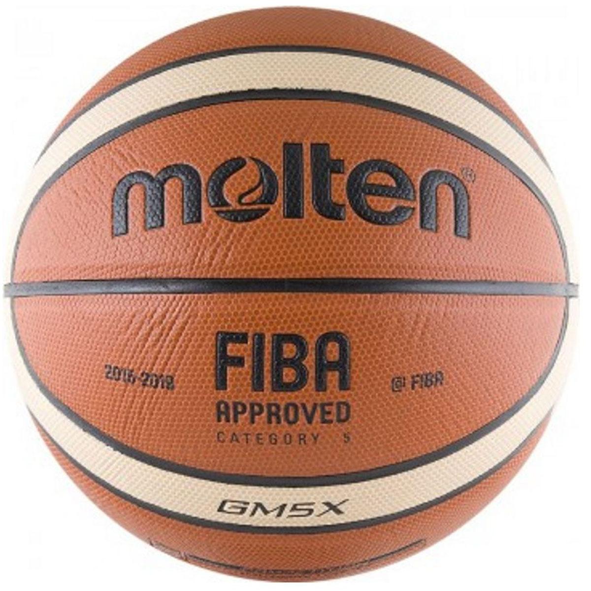 Мяч баскетбольный Molten. Размер 5. BGM5XBGM5XБаскетбольный мяч Molten.Контроль мяча: особая фактура покрышки и максимально плоские каналы обеспечивают надежный захват мяча и точные броски.Одобрено FIBA: мяч одобрен ФИБА и подходит для подготовки к соревнованиям профессионального уровня.Прочность: модель из полиуретановой синтетической кожи отлично подходит как для игры в зале, так и на улице.