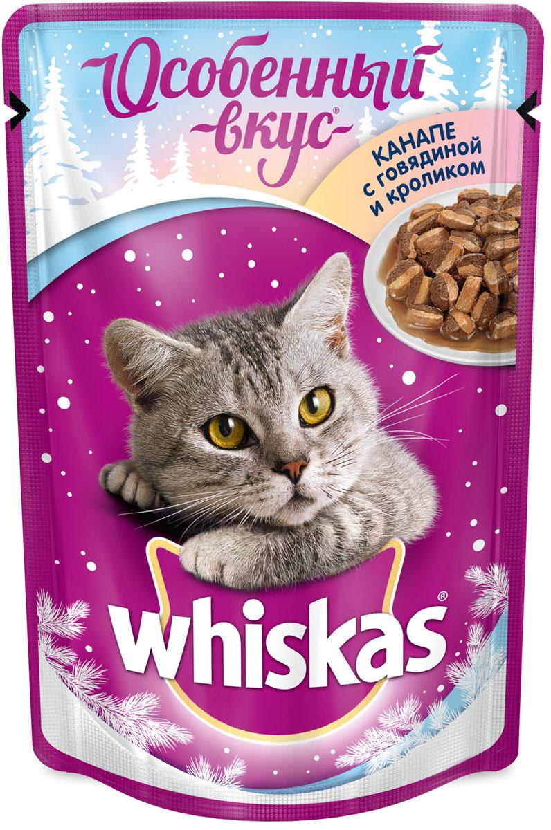 Корм консервированный Whiskas