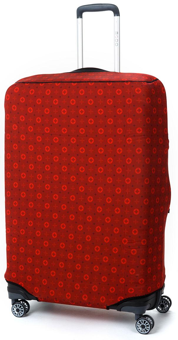 "Чехол для чемодана Mettle ""Scarlet"", размер L (высота чемодана: 75-82 см), ТМ Mettle"