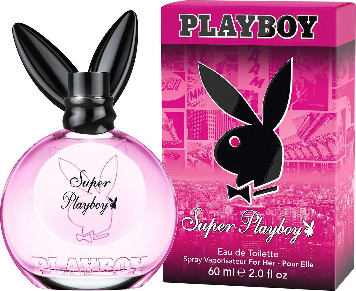 Playboy Super Female Туалетная вода для женщин, 60 мл3614222000730Туалетная вода Playboy добавит еще больше индивидуальности и привлекательности твоему образу. Новый день, новое настроение, новый аромат! Ты чувствуешь себя влюбленной, сексуальной или игривой? Просто начни игру и ты не оставишь ему шансов. Playboy Super - аромат, способный заставить его пасть к твоим ногам. Стильная смесь коктейля ред бул с нотами маргаритки и мандарина привлечет его внимание мгновенно! Экзотическое сердце постепенно раскрывается цветками стрелиции, сладкой фрезия и аппетитного физалиса. В шлейфе звучит чувственный аккорд амбры, теплого дерева массойя и сексуального мускуса.Краткий гид по парфюмерии: виды, ноты, ароматы, советы по выбору. Статья OZON Гид