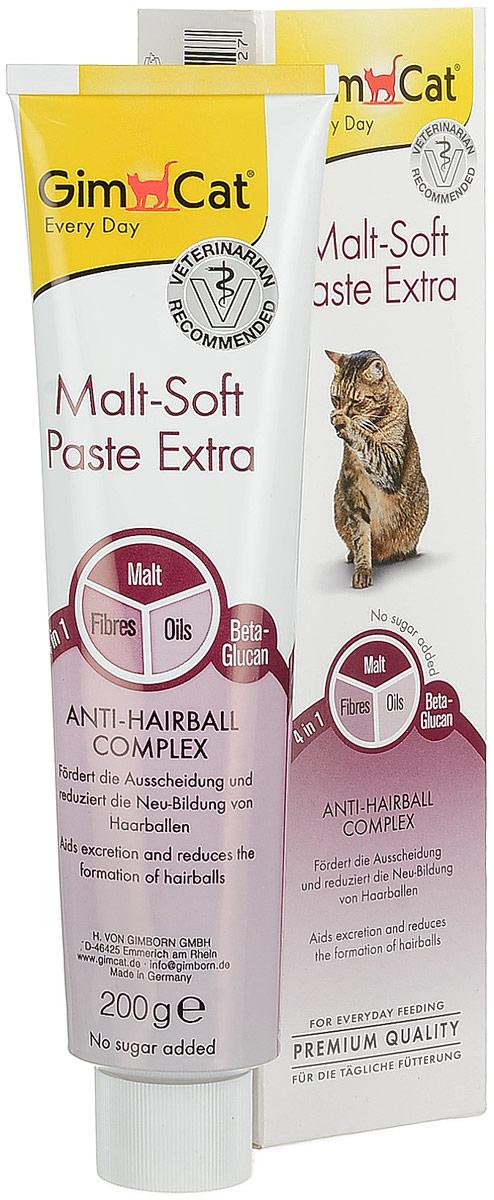 Паста для кошек GimCat  Malt-Soft Extra , 200 г - Ветеринарная аптека