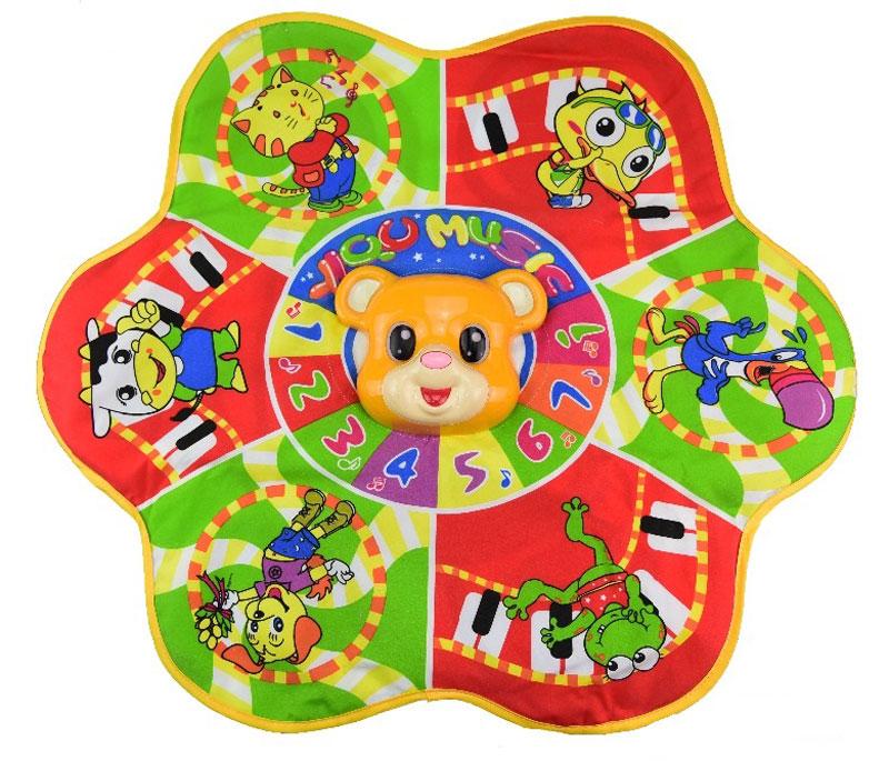 Shantou Gepai Развивающий коврик Мишка спортивный инвентарь shantou gepai дартс детский с липучкой