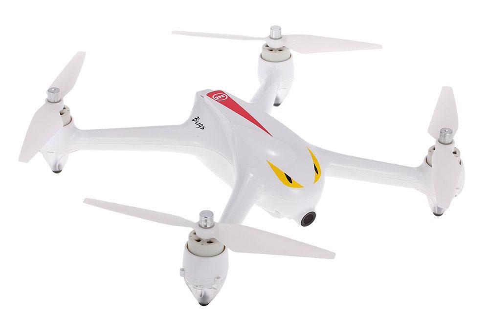 MJX Квадрокоптер на радиоуправлении Bugs-2 цвет белый